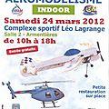 Meeting aeromodélisme à Armentiéres mars 2012