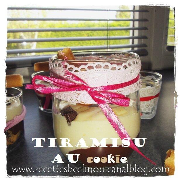 Tiramisu au Cookie