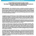1/3 des bébés sont exposés au tabac in utéro (étude)