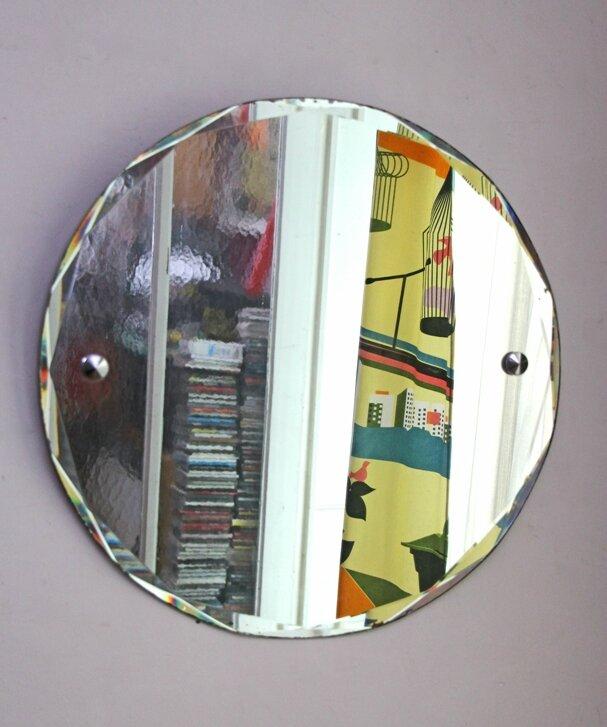 miroir ancien biseaut retour de chine. Black Bedroom Furniture Sets. Home Design Ideas