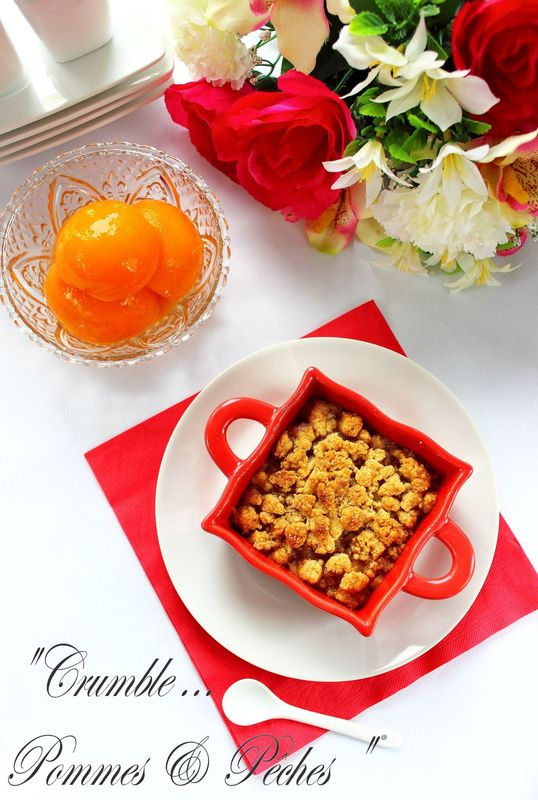 CRUMBLE POMMES & PECHES8