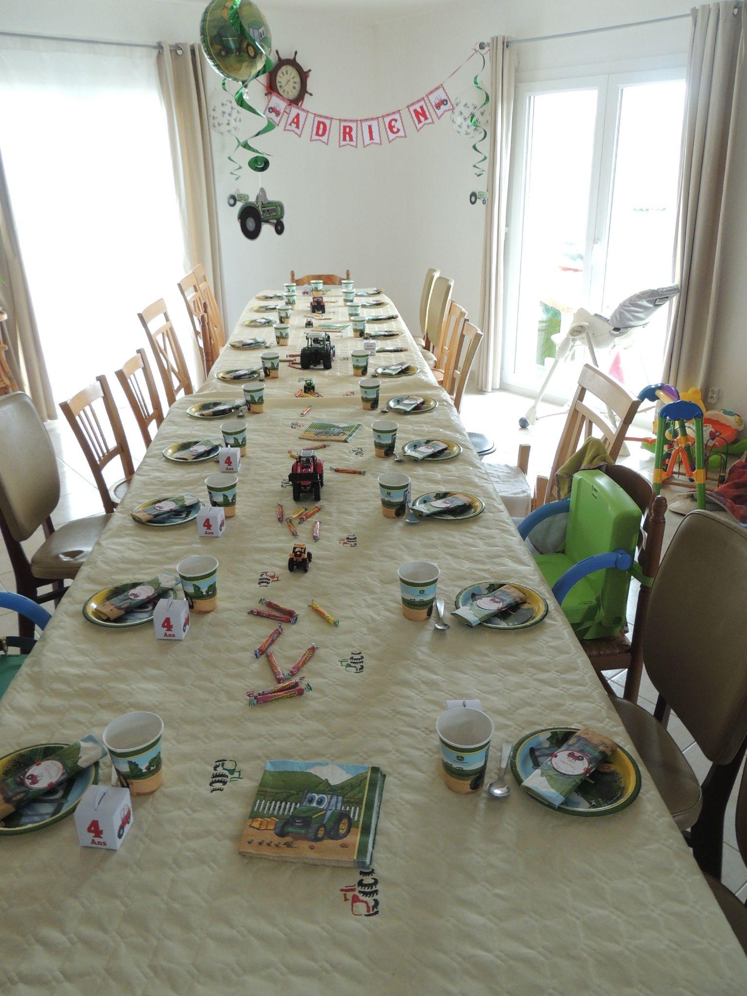 Les 4 ans d 39 adrien harmonille - Tout pour la table ...