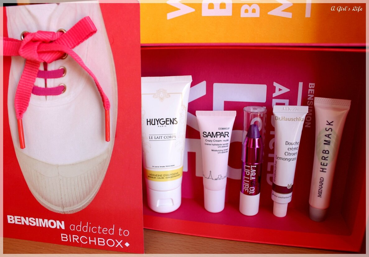 Birchbox de Juillet 2014 : BENSIMON addicted to BIRCHBOX ♥