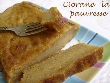 G teaux sans oeufs la cuisine de quat 39 sous - Gateau a la banane sans oeuf ...