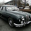 Jaguar 2.4 litre mark 1 saloon 1955 à 1959
