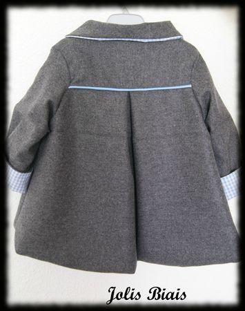 manteau dos