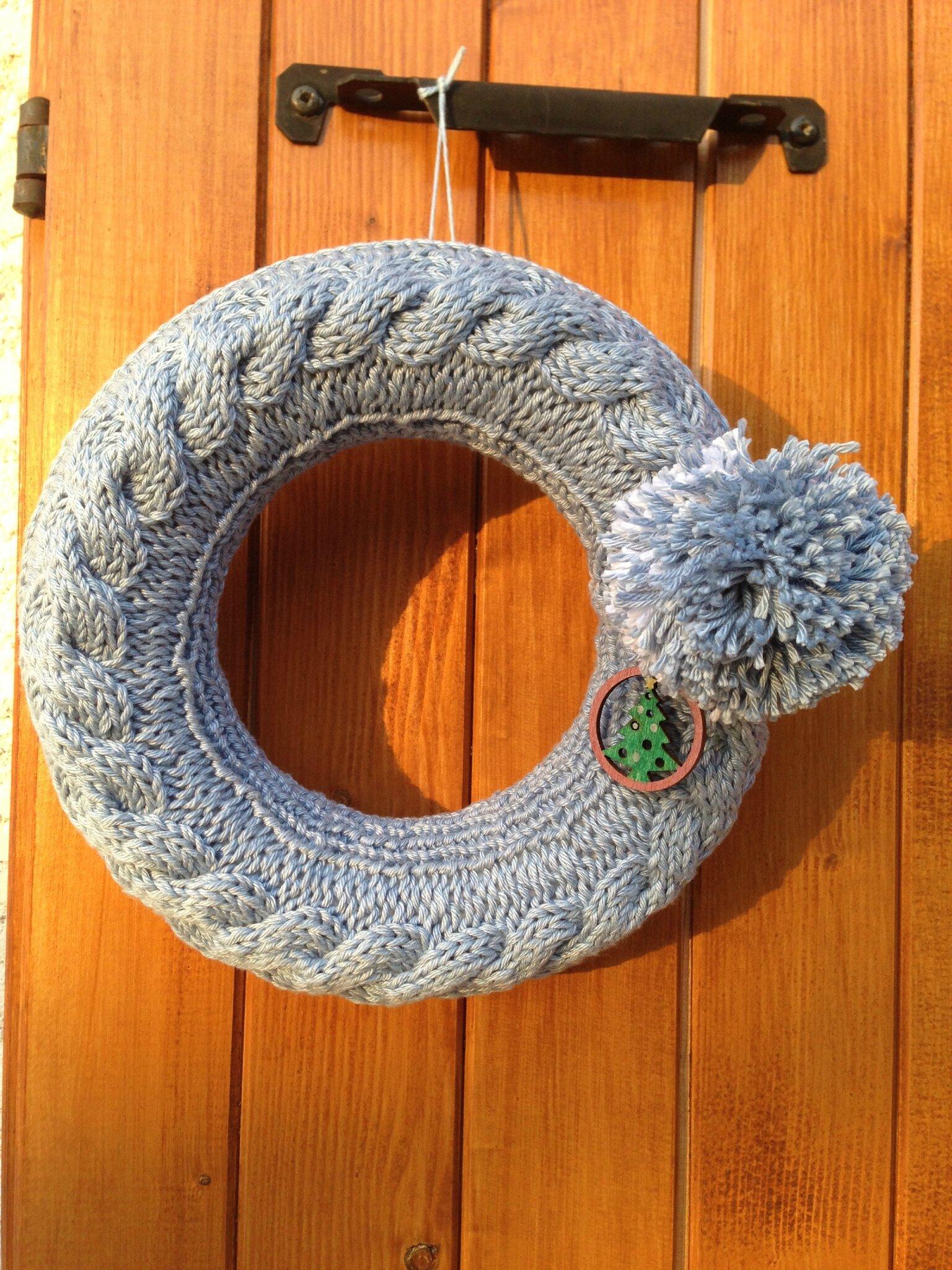 Couronne en tricot