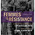 Expo femmes et résistance