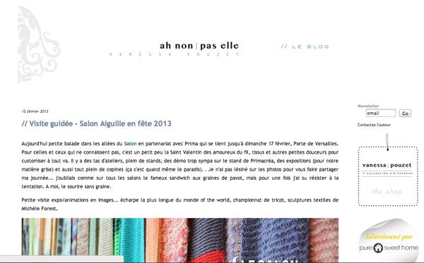 blog ah non pas elle