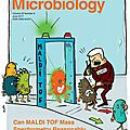 Couverture magazine trends in microbiology juin 2107 (etats-unis)