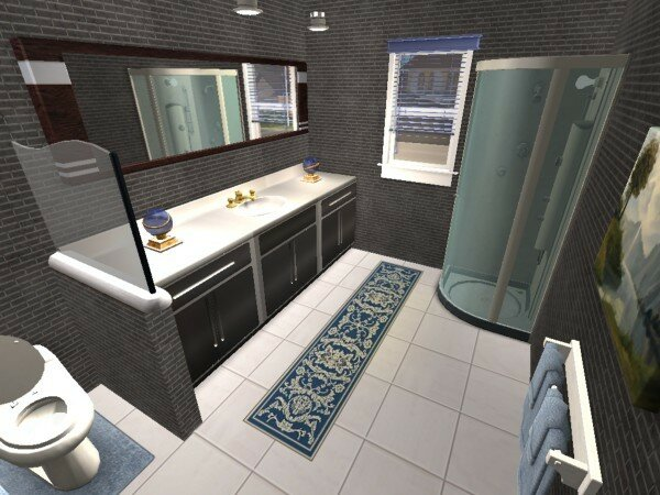 villa panoramique maisons deco sims2. Black Bedroom Furniture Sets. Home Design Ideas