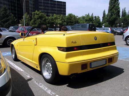 ALFA ROMEO RZ (Roadster Zagato) 1991 à 1994 Retrorencard 2