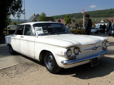 Chevrolet corvair 4door sedan 1962 Bourse d'Echanges de Soultzmatt 2011 1