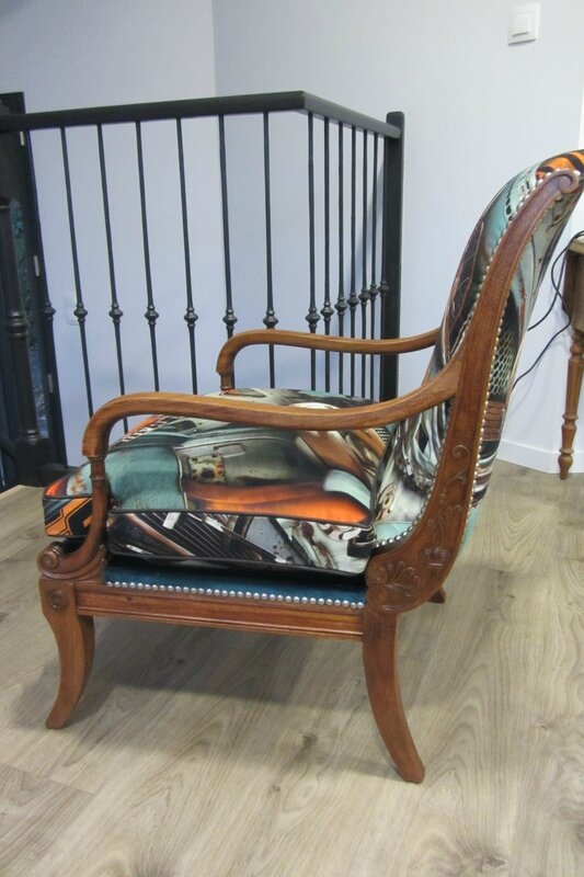 style anglais c t si ges tapissier brest restauration ameublement. Black Bedroom Furniture Sets. Home Design Ideas