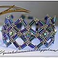 Bracelet perle tube