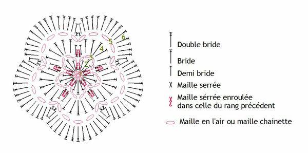 diagramme fleur