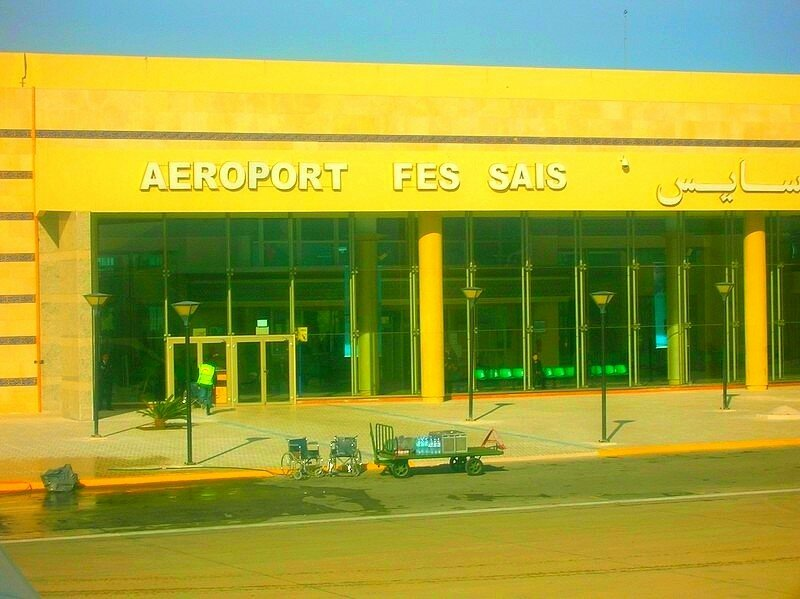 Aeroport Fes saiss مطار فاس سايس