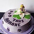 Gâteau elfe à la violette