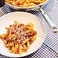 Penne aux saucisses italiennes