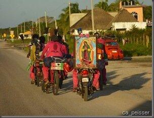 Pélerinage pour la Virgen de Guadalupe
