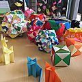 Atelier origami : encore des renards !!