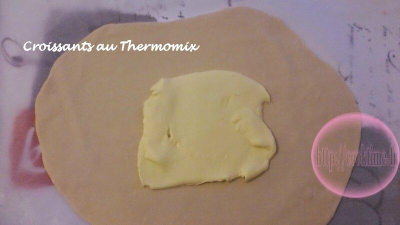 Croissants au Thermomix 3