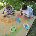 Peindre au jardin