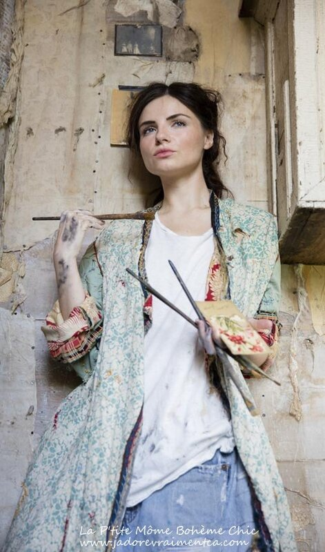 MP Floral green hippie coat red inside.04.jpg