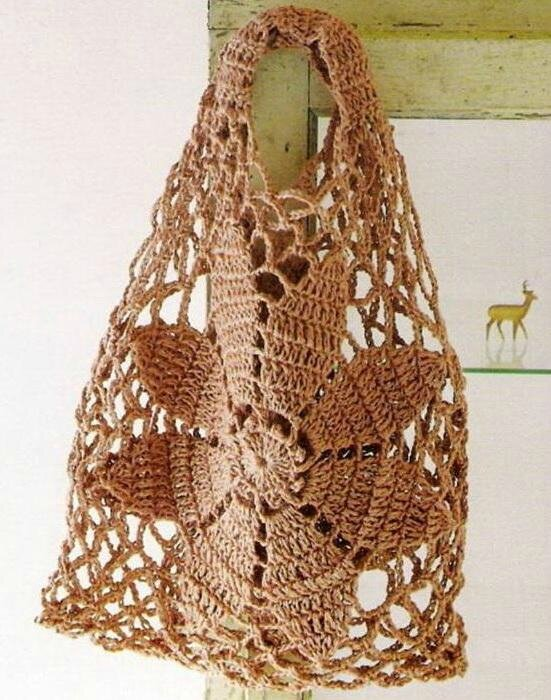 Free-Crochet Bag Pattern 6