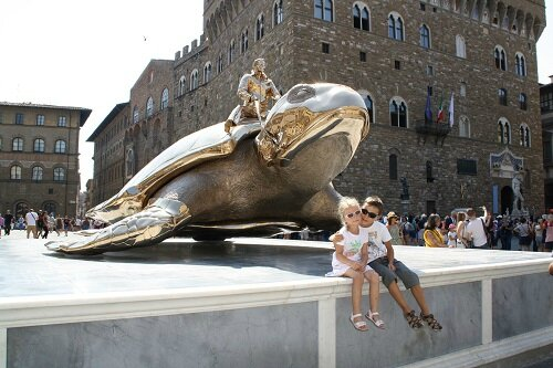 Lenascrap Florence piazza della Signoria