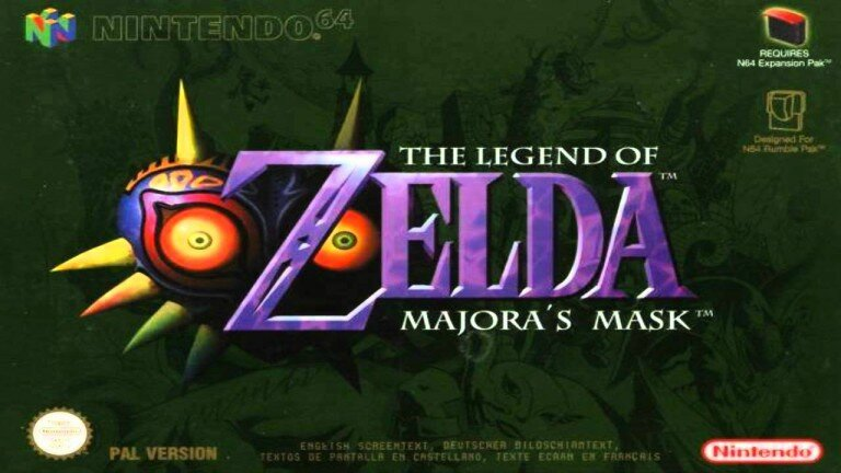 The legend of Zelda: Majora's Mask enfin sur Wii U