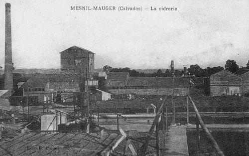 Le Mesnil-Mauger - la cidrerie