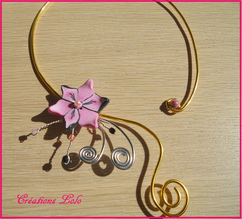 334 - Collier mariage Charline