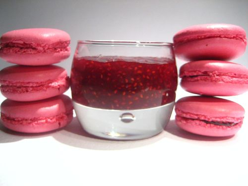 Macarons Framboises