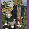 Léon et Marion partent à la chasse aux moutons.