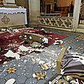 Deux profanations quotidiennes de lieux de cultes et sépultures catholiques en france.