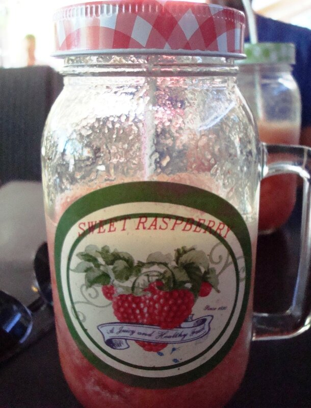 Cocktail de fruits (fraise)