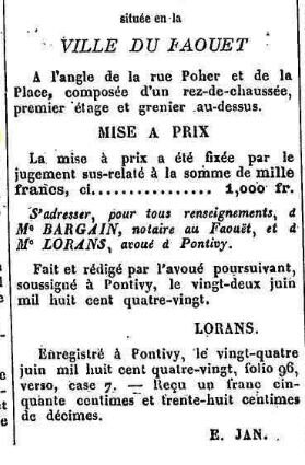Presse Journal de Pontivy 1880_4