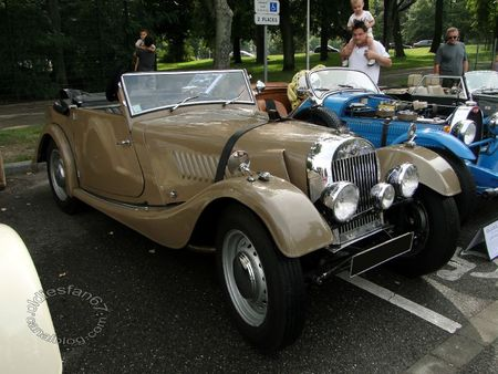 Morgan plus 4 convertible 1952 Rencard de Haguenau 1
