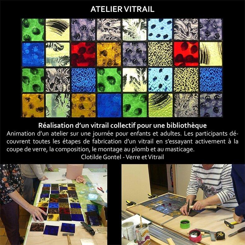 Atelier-réalisation-vitrail-collectif-clotilde-gontel