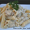 Penne au thon faon 