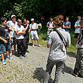 Repérage de chantier pédagogique sur la zone naturelle des isles du drac