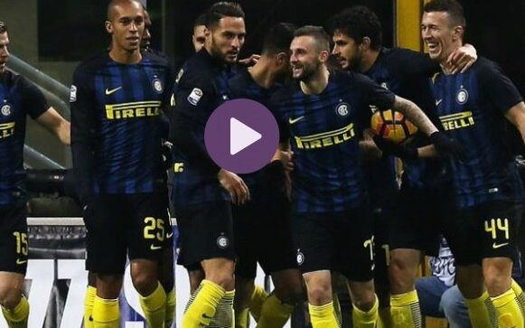 video but inter Milan Fiorentina résume série a