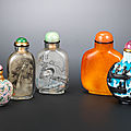 Bonhams hong kong to offer the paul braga collection of snuff bottles on 24 november