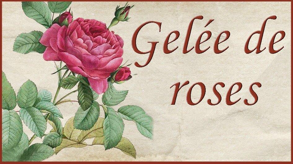 gel e de roses tiquettes 1 2 3 flo bricole les gourmandises de flo. Black Bedroom Furniture Sets. Home Design Ideas