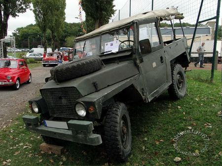 Land Rover commando lightweight 1979 bourse de crehange 2011 1