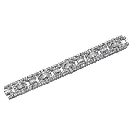 Diamond bracelet, circa 1935
