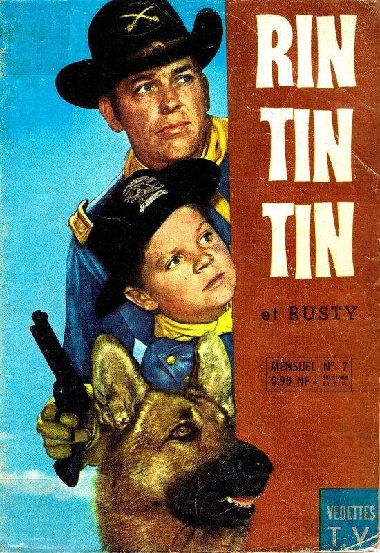 RUSTY RINTINTIN and Captain RIP MASTERS