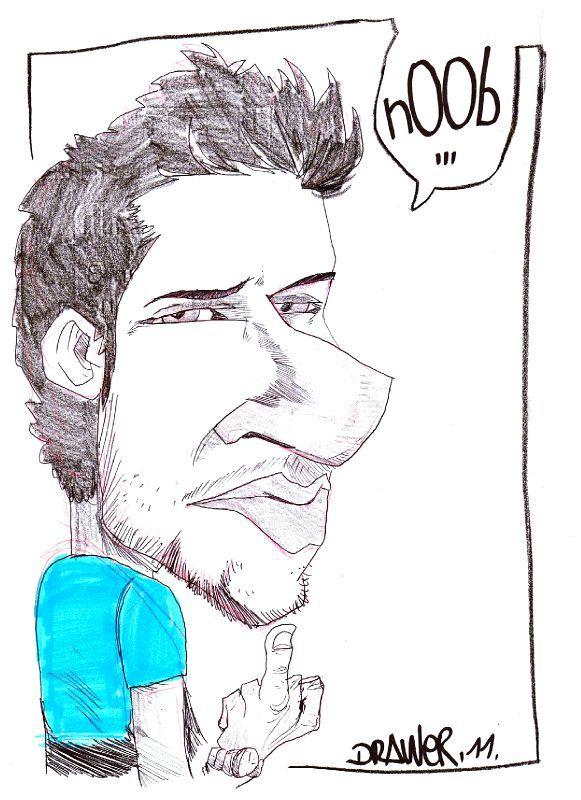 caricature julienbrasseur