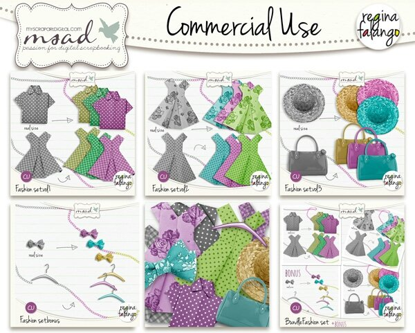 Commercial USE Fashion !